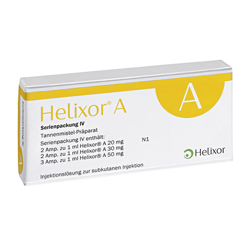 Helixor A series IV  7 ampoules